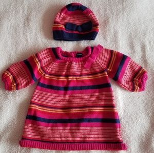 Cute Old Navy Dress and Matching Hat
